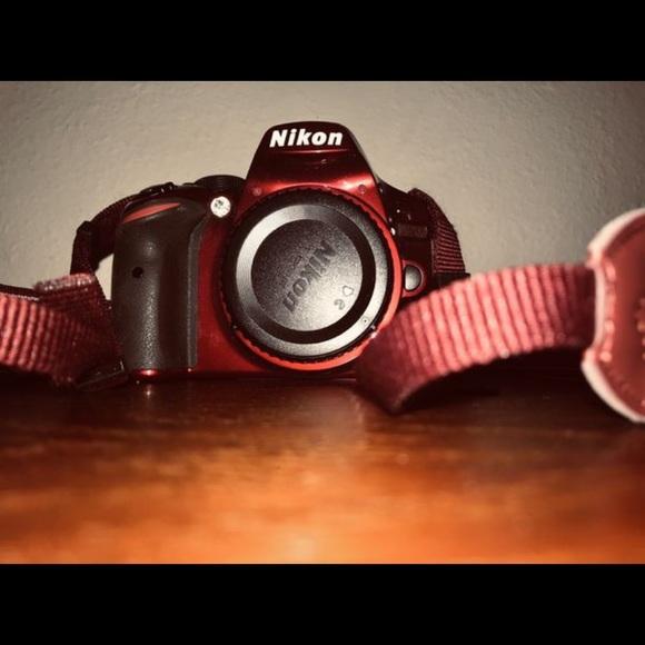 Nikon D3200 24 2 MP Digital SLR Camera - Red